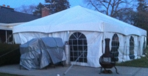 Birthday Tent Rent
