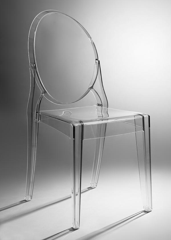 Clear Mirage Chair
